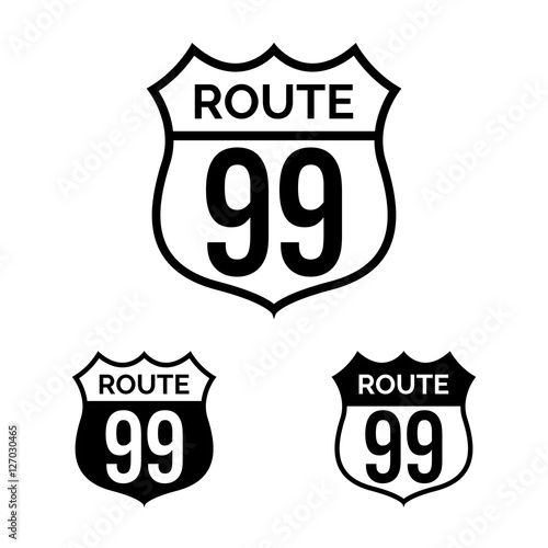 Photographie route 99