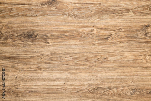 Deurstickers Hout Wood Texture Background, Brown Grained Wooden Pattern Oak Timber