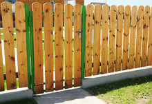 Wooden Fence Door. Wood Fence ...