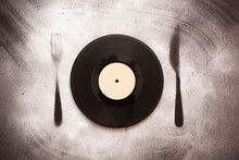 Vinyl Record In The Form Of Pl...