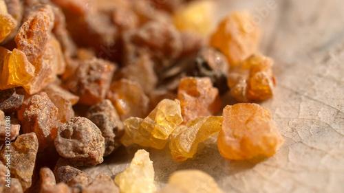 Fototapeta Myrrhe, Harz, Commiphora myrrha