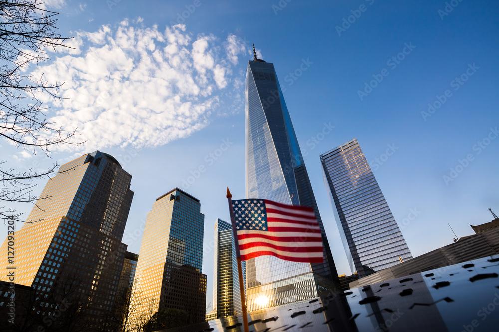 Fototapety, obrazy: One World Trade Center