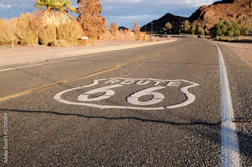 Fotobehang Route 66 La Route 66