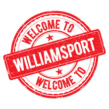 Welcome To WILLIAMSPORT Stamp.