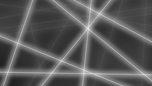 Hi-tech Background. Abstract Gray Lines Crossings. 3D Rendering