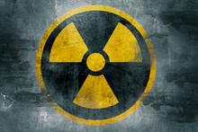 Radioactive Symbol Grunge