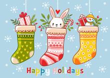 Christmas Card With Christmas ...