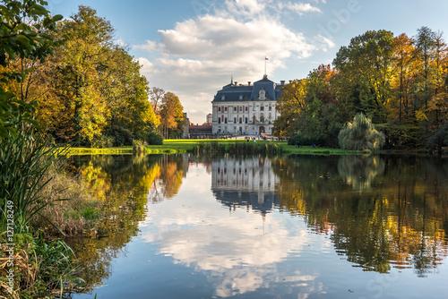 Obraz Pałac w Pszczynie - fototapety do salonu