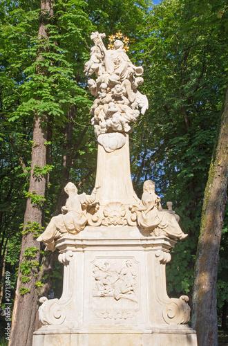 Photo Marianka - The baroque column of St