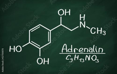Fotografie, Obraz  Structural model of Adrenalin