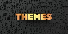 Themes - Gold Text On Black Ba...