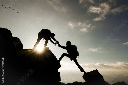 Fotografie, Tablou  tırmanış tutkusu ve beraberlik ruhu