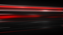 Red Light Streaks Abstract Futuristic Background