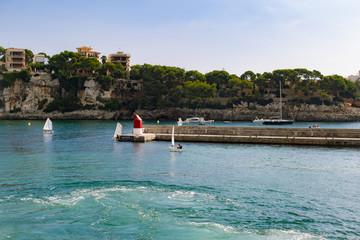 Fototapeta na wymiar Mallorca - Spain-Porto Cristo