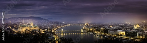 Photo  Panorama view of budapest