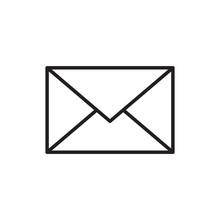 Email Message Envelope Icon Ou...