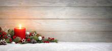 Weihnachten Oder Advent Hinter...