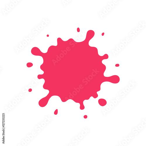 the pink blob Fototapete