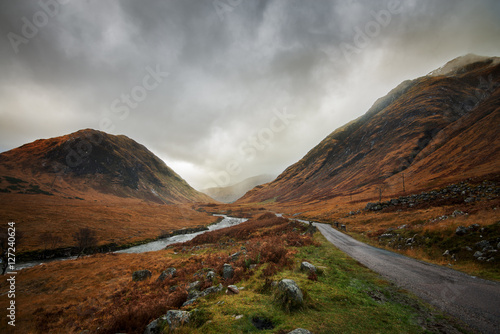 Scottish Highlands Glen Coe Canvas Print