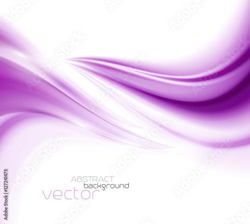 Beautiful Purple Satin. Drapery Background