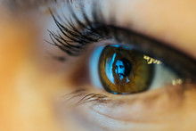 Jesus Christ Reflected On Eye
