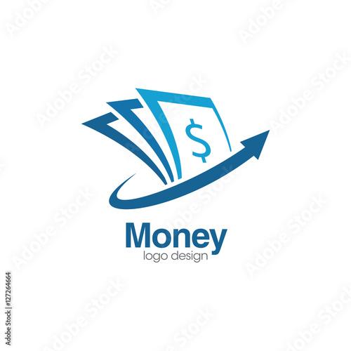 Money Creative Concept Logo Design Template