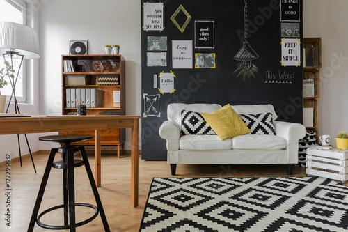 Valokuva  Pleasant interior of contemporary flat