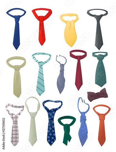 Valokuvatapetti Set of neckties