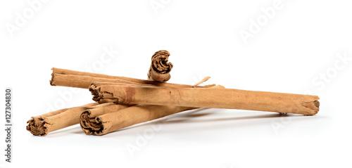 Fotografie, Obraz  true cinnamon sticks isolated