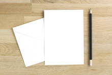 Blank Greeting Card Mockup