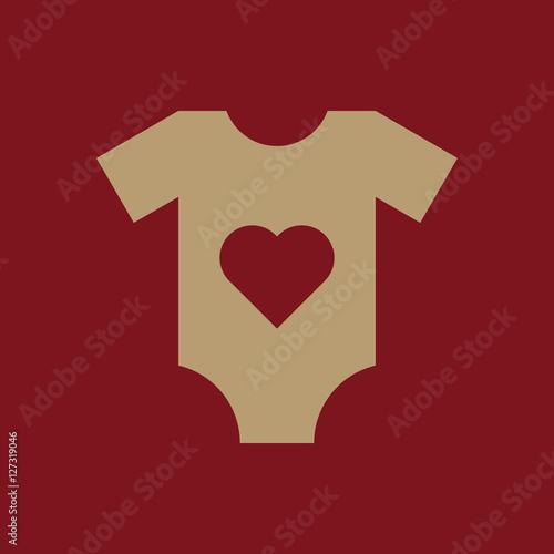 Romper suit icon  design  Shirt, clothes, Romper suit symbol