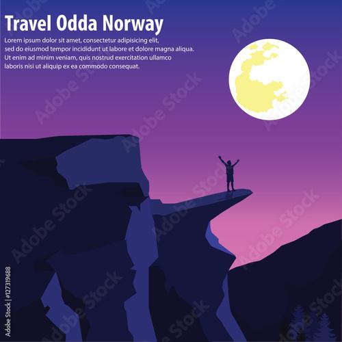 Poster Prune Tourism odda Norway