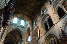 Peterborough Cathedral Arches