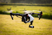 DRONE SUNSET UAV UNMANNED AIRC...