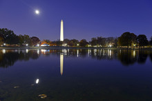 Washington Monument At Night W...