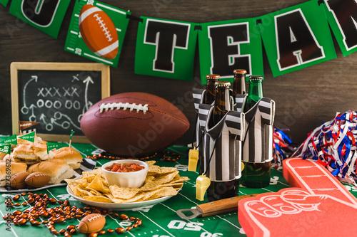 Fényképezés  Football party