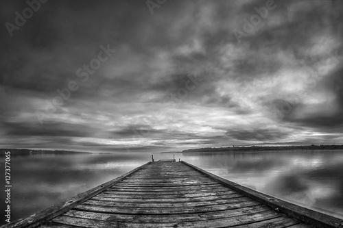 Fototapety, obrazy: Brücke am Meer