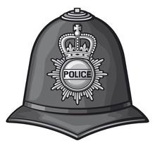 British Police Helmet (bobby C...