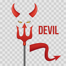 Devil Horns, Trident, Eyes And...
