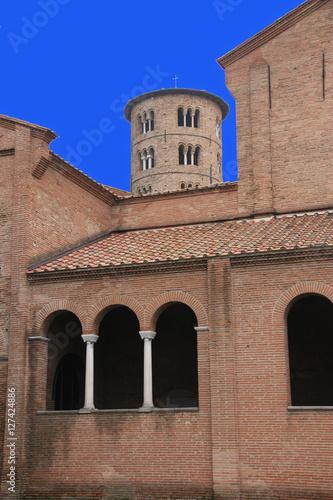 Poster Monument Basilique Saint-Appolinaire à Ravenne, Italie