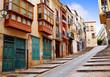 Zamora street Balboraz in Spain Via de la Plata
