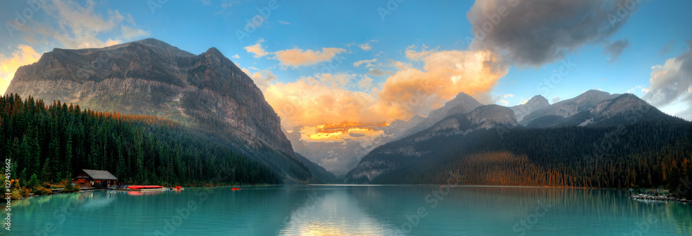 Fototapety, obrazy: Banff National Park panorama