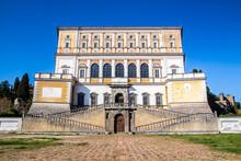 The Villa Farnese In Caprarola, Italy