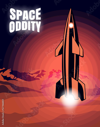 Valokuvatapetti Space oddity