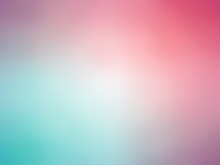Abstract Gradient Purple Blue Green Colored Blurred Background