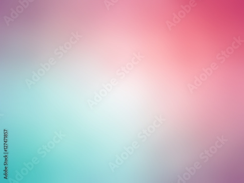 Photo  Abstract gradient purple blue green colored blurred background