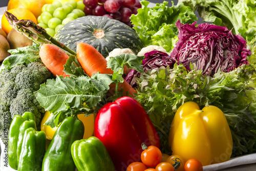 Fotobehang Groenten 野菜集合