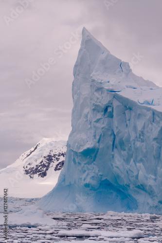 Deurstickers Antarctica Antarctic Ice bergs