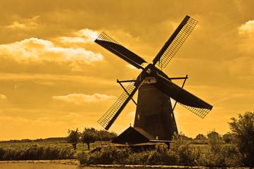 Holland, Canals and Windmills u Kinderdijku