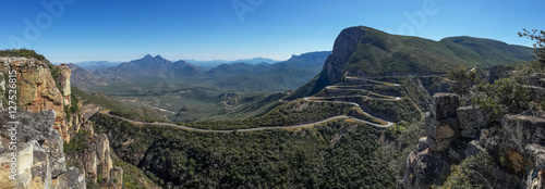 Photo The impressive Serra da Leba pass in Angola